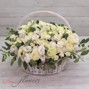 Корзины - Корзина цветов - Герцогиня - букеты в СПб