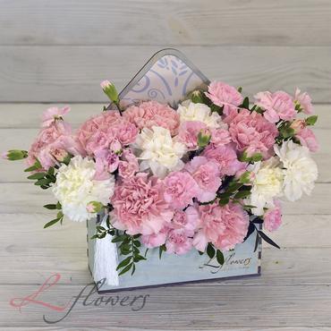 Письма с цветами - Письмо из Франции - букеты в СПб