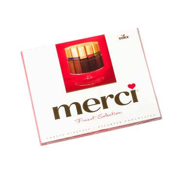 Add a gift to the bouqet - Chocolate Merci - букеты в СПб