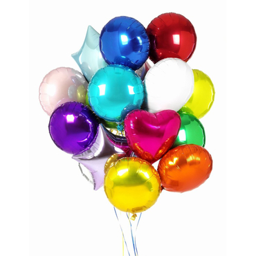 Add a gift to the bouqet - Foil balloons with helium - букеты в СПб