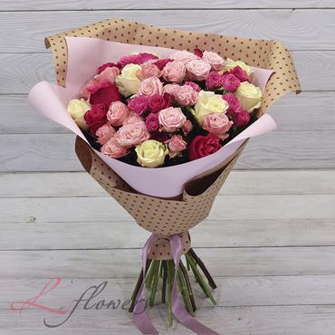 Букеты цветов в ассортименте - Букет Аделаида - букеты в СПб