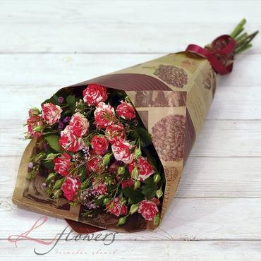 Букеты цветов в ассортименте - Букет Айседора - букеты в СПб
