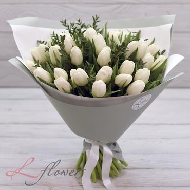 Букеты цветов в ассортименте - Букет Арктика - букеты в СПб
