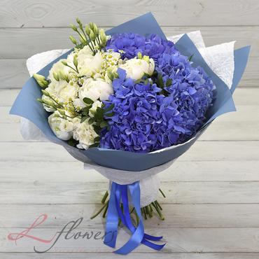 Букеты цветов в ассортименте - Букет Атлантика - букеты в СПб