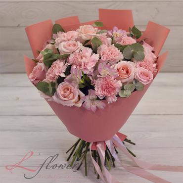 Букеты цветов в ассортименте - Букет Барби - букеты в СПб