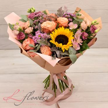 Букеты цветов в ассортименте - Букет Бавария - букеты в СПб
