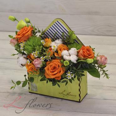Flower letters - Letter from Casablanca - букеты в СПб