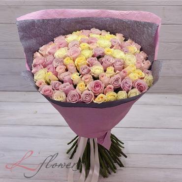 Букеты цветов в ассортименте - Букет Доминикана - букеты в СПб
