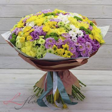 Букеты цветов в ассортименте - Букет Енисей - букеты в СПб