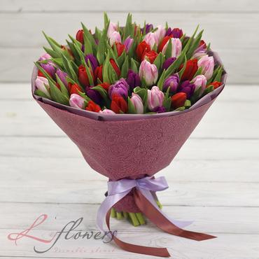 Букеты цветов в ассортименте - Букет Эсмеральда - букеты в СПб