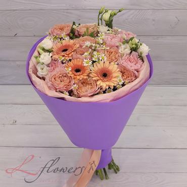 Букеты цветов в ассортименте - Букет Фиби - букеты в СПб