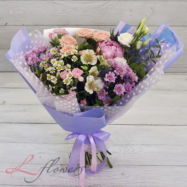 Букеты цветов в ассортименте - Букет Фигаро - букеты в СПб