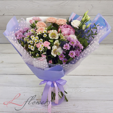 Bouquets - Bouquet Figaro - букеты в СПб