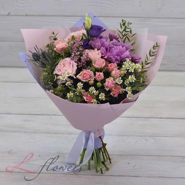Букеты цветов в ассортименте - Букет Фьюжн - букеты в СПб