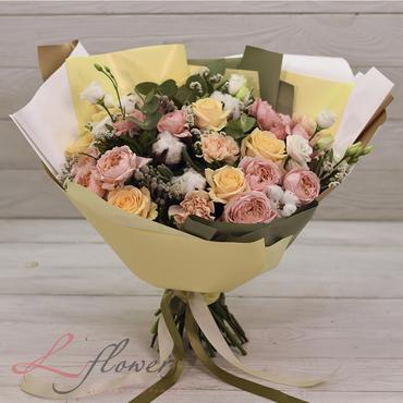 Букеты цветов в ассортименте - Букет Хельга - букеты в СПб