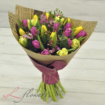 Букеты цветов в ассортименте - Букет Ипанема - букеты в СПб