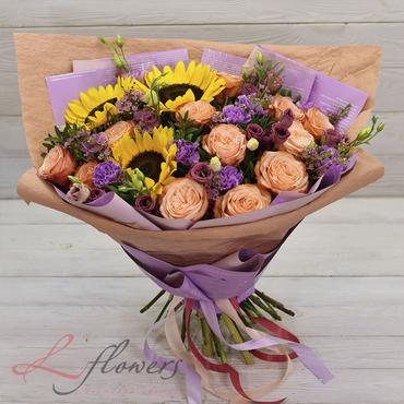 Букеты цветов в ассортименте - Букет Калифорния - букеты в СПб