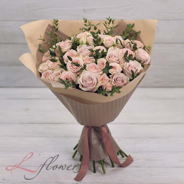 Bouquets - Bouquet Creme Brulee - букеты в СПб
