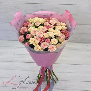Букеты цветов в ассортименте - Букет Маронти - букеты в СПб
