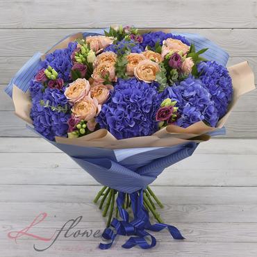 Букеты цветов в ассортименте - Букет Океания - букеты в СПб