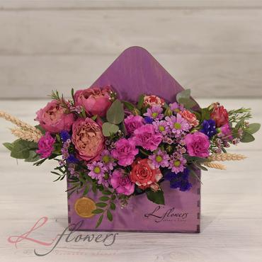 Flower letters - Letter from Argentina - букеты в СПб