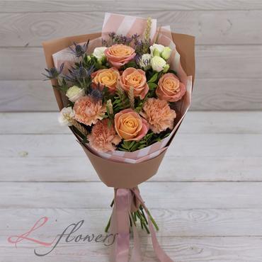 Букеты цветов в ассортименте - Букет Поэзия - букеты в СПб