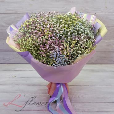 Букеты цветов в ассортименте - Букет Радуга - букеты в СПб