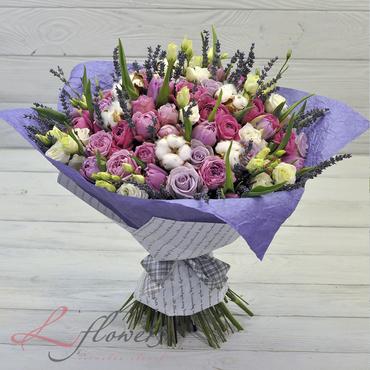 Букеты цветов в ассортименте - Букет Рандеву - букеты в СПб