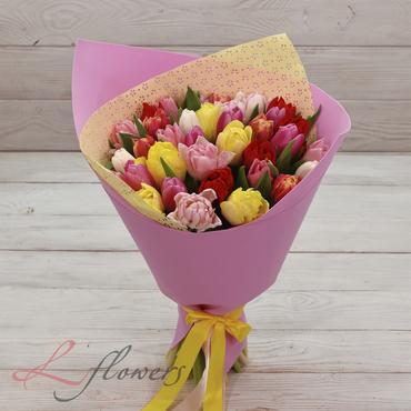 Букеты цветов в ассортименте - Букет Рапунцель - букеты в СПб