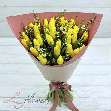 Букеты цветов в ассортименте - Букет Гуэль - букеты в СПб