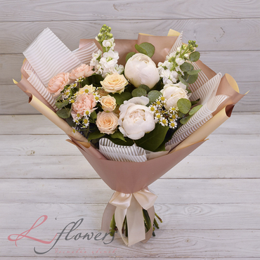 Букеты цветов в ассортименте - Букет Шарлиз - букеты в СПб