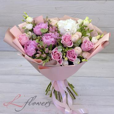 Букеты цветов в ассортименте - Букет Сильфида - букеты в СПб
