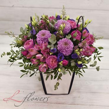 Flower baskets - Rumba - букеты в СПб