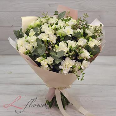 Букеты цветов в ассортименте - Букет Жасмин - букеты в СПб