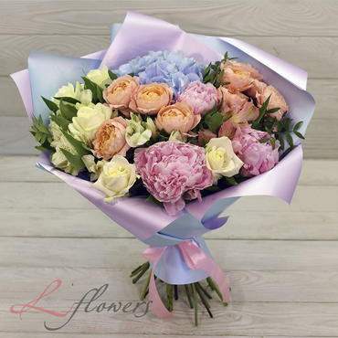 Букеты цветов в ассортименте - Букет Ундина - букеты в СПб