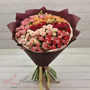 Букеты цветов в ассортименте - Букет Валенсия - букеты в СПб