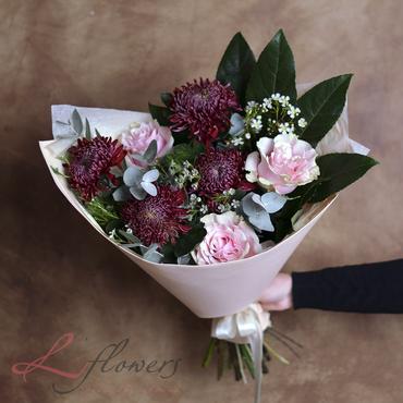 Букеты цветов - Букет Бургундия - букеты в СПб