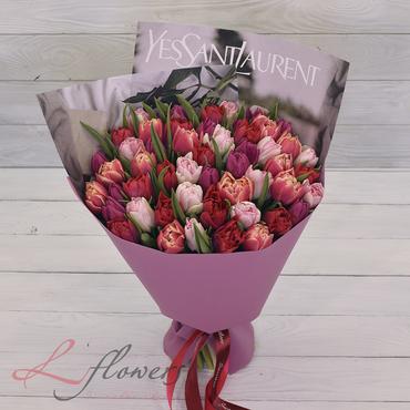 Букеты цветов в ассортименте - Букет Довиль - букеты в СПб