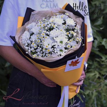 Букеты цветов - Букет Капучино - букеты в СПб