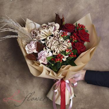 Букеты цветов - Букет Гейша - букеты в СПб