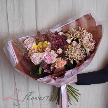 Букеты цветов - Букет Маркиза - букеты в СПб
