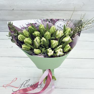 Букеты цветов в ассортименте - Букет Мохито - букеты в СПб