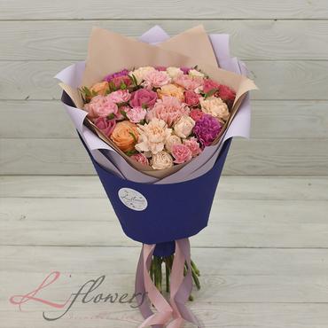 Букеты цветов в ассортименте - Букет Наполеон - букеты в СПб
