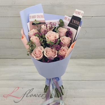 Букеты цветов в ассортименте - Букет Оливия - букеты в СПб