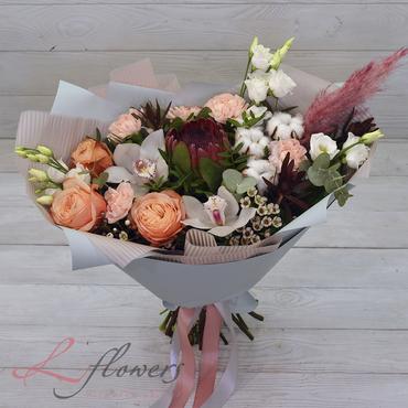 Букеты цветов в ассортименте - Букет Персефона - букеты в СПб