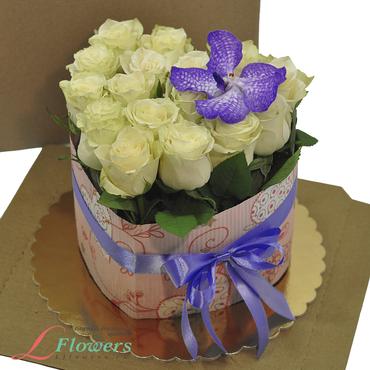 Cakes of flowers  - Cake Temptation - букеты в СПб
