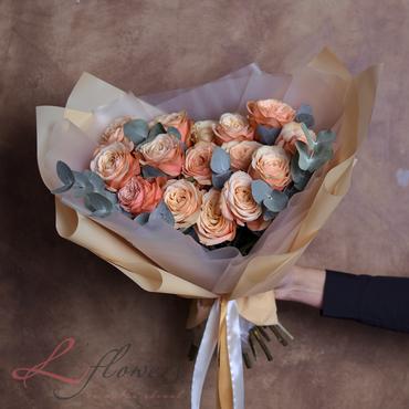 Букеты цветов - Букет Тоффи - букеты в СПб