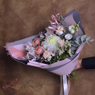 Букеты цветов - Букет Вальс - букеты в СПб