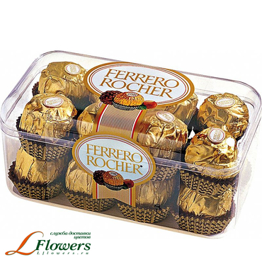 Add a gift to the bouqet - Ferrero Rocher - букеты в СПб
