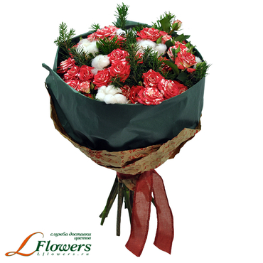 Christmas and New Year - Bouquet Karelia - букеты в СПб